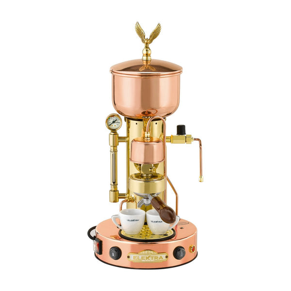 Elektra RETRÒ Micro Casa SemiAutomatic SX (Copper & Brass) - The Concentrated Cup