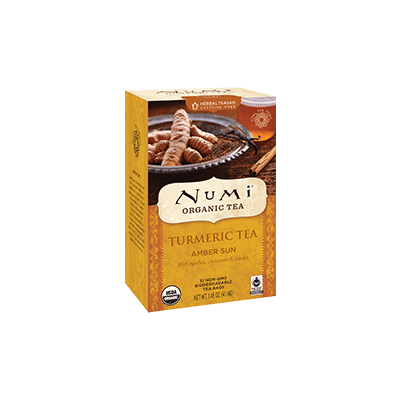 NUMI Amber Sun (Turmeric Tea) - The Concentrated Cup