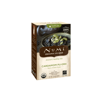 NUMI Cardamom Pu-erh (Pu-erh Tea) - The Concentrated Cup