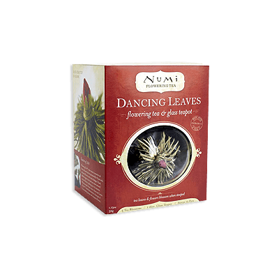NUMI Dancing Leaves Flowering Tea Set - GIFT SET - The Concentrated Cup