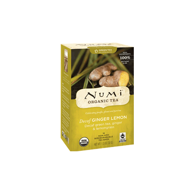 NUMI Decaf Ginger Lemon (Green Tea) - The Concentrated Cup