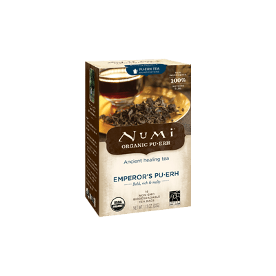 NUMI Emperor's Pu-erh (Pu-erh Tea) - The Concentrated Cup