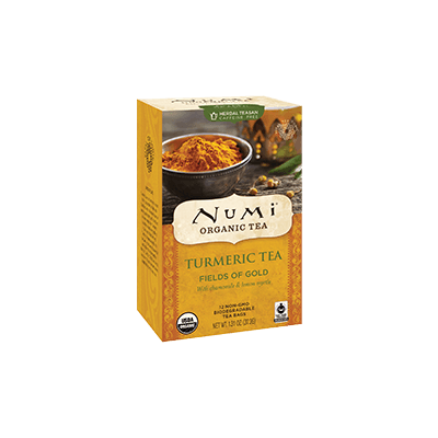 NUMI Fields of Gold (Turmeric Tea) - The Concentrated Cup