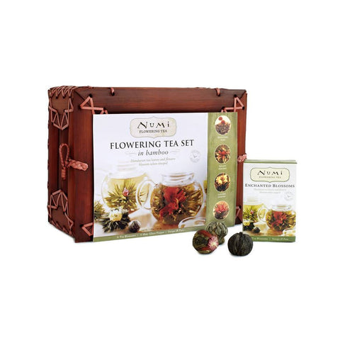 NUMI Flowering Tea Set in Bamboo (Loose Leaf) - GIFT SET - The Concentrated Cup