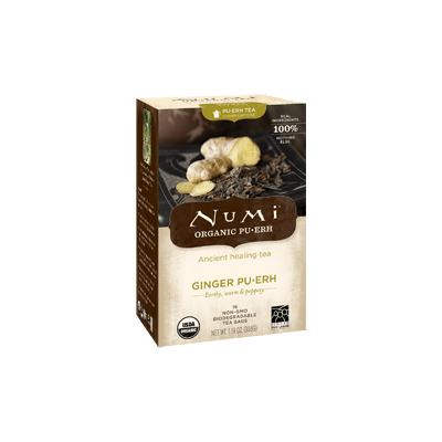 NUMI Ginger Pu-erh (Pu-erh Tea) - The Concentrated Cup