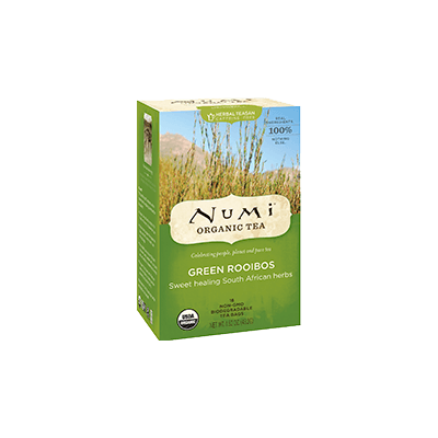 "NUMI Green Rooibos (Herbal Tisane/ ""Teasan"") - The Concentrated Cup"