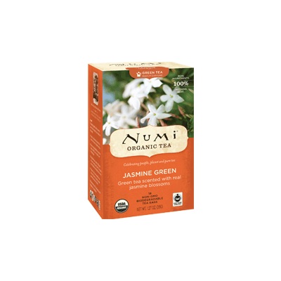 NUMI Jasmine Green (Green Tea) - The Concentrated Cup