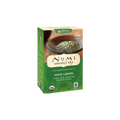 NUMI Maté Lemon (Green Tea) - The Concentrated Cup