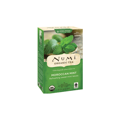 "NUMI Moroccan Mint (Herbal Tisane/ ""Teasan"") - The Concentrated Cup"