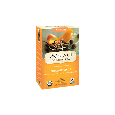 NUMI Orange Spice (White Tea) - The Concentrated Cup