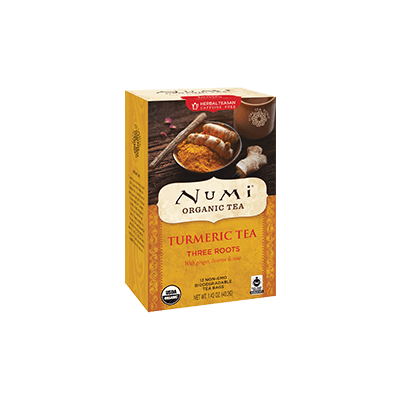 NUMI Three Roots (Turmeric Tea) - The Concentrated Cup
