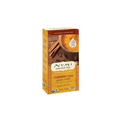 "NUMI Turmeric Chai Loose Leaf (Turmeric Tea/ Herbal Tisane (""Teasan"") - The Concentrated Cup"