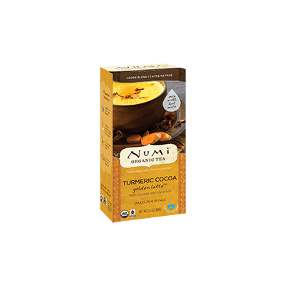 "NUMI Turmeric Cocoa Loose Leaf (Turmeric Tea/ Herbal Tisane [""Teasan""]) - The Concentrated Cup"