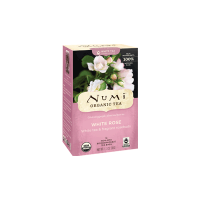 NUMI White Rose (White Tea) - The Concentrated Cup
