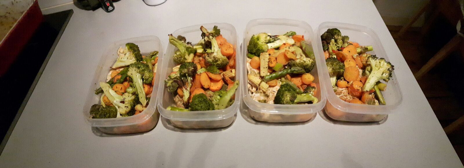 Meal prep done easy for the lazy (like me!)