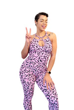 Heartbreaker Jumpsuit - Pink Panther