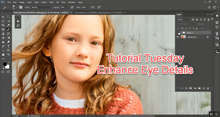 Enhance Eye Details Photoshop Actions