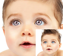 free eye color photoshop actions, baby boy