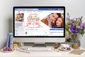 LS Valentines Facebook Cover Marketing Template
