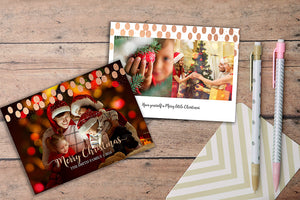 LS Merry Christmas Rose Gold Marketing Template