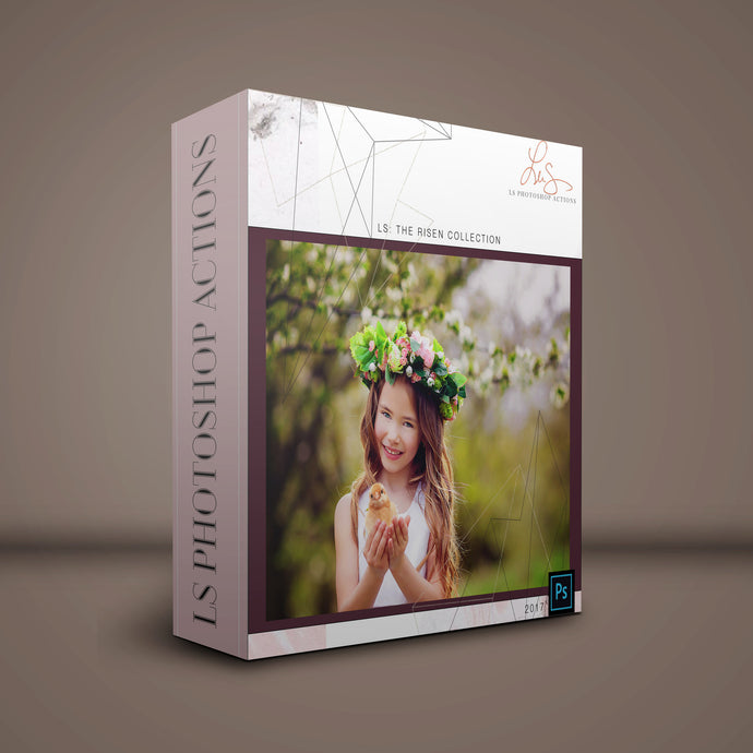 Easter Overlays and Photoshop Actions
