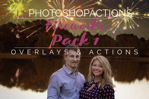 Firework Overlays and Photoshop Actions