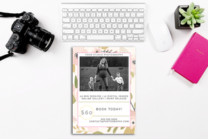 Mommy and Me 7x5 Marketing Template
