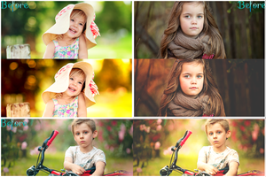 Fall Photoshop Actions