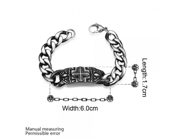 :  Fashion 316L stainless steel bracelet for man