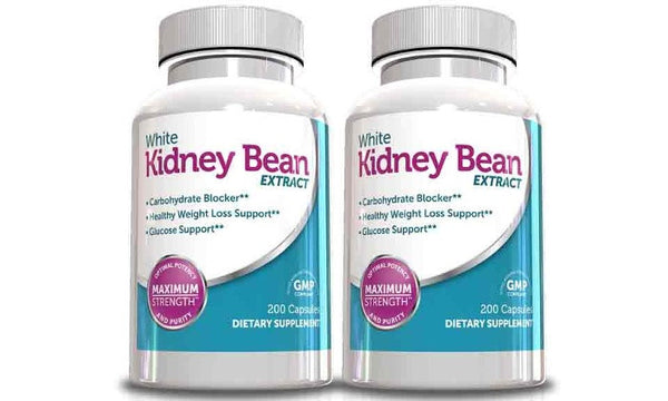 White Kidney Bean Extract- 200 Capsules-2 Pack