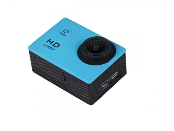 1080p Action Camera Blue