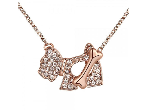 1158066  18K Real Rose Gold Plated Necklace pendants New Fashion