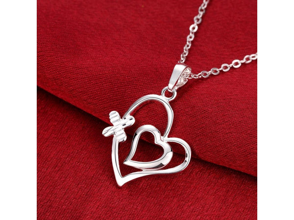 Silver  :  hot brand new fashion popular chain necklace jewelry
