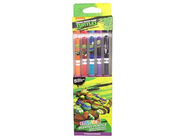 TMNT Colored Smencils 4-pack