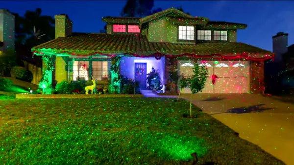 1000 Point LED Projector Holiday Lights