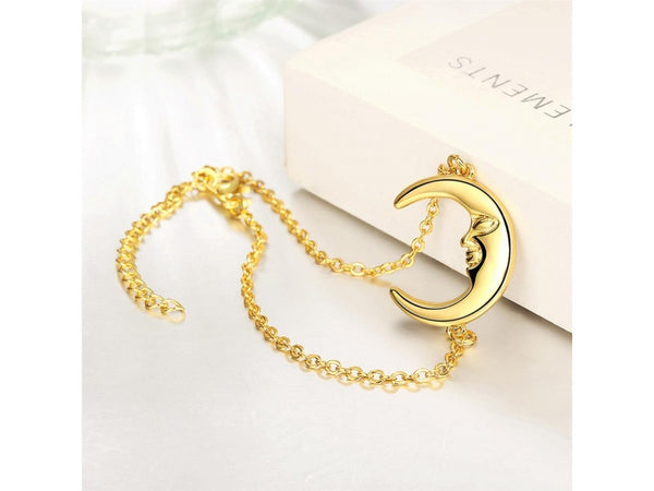 Gold  :  Wholesale High Quality Nickle Free Antiallergic New Fashion Jewelry White Hot style bracelet