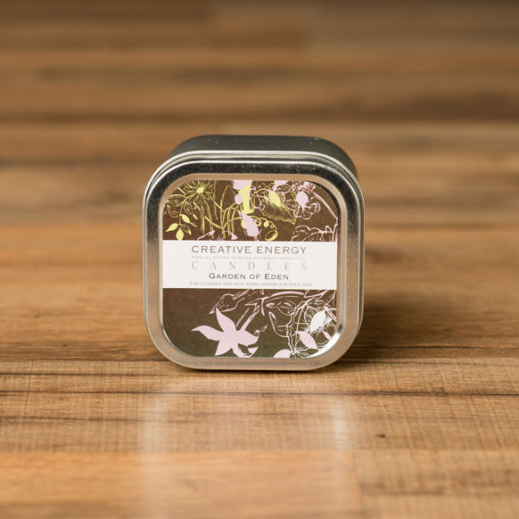 Garden of Eden 2-in-1 Lotion Candle-Large Tin