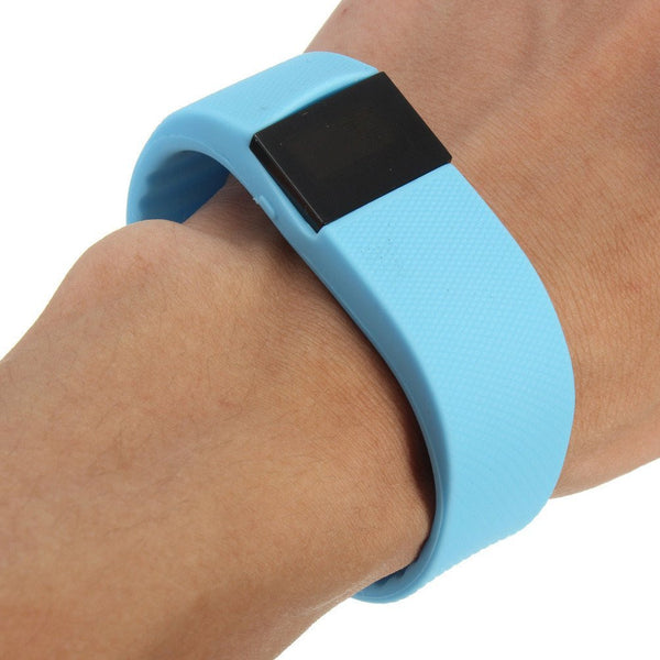 Bluetooth Fitness Bracelet Blue