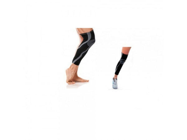 Full Length Knee & Calf Compression Sleeve ( 1 Pair )