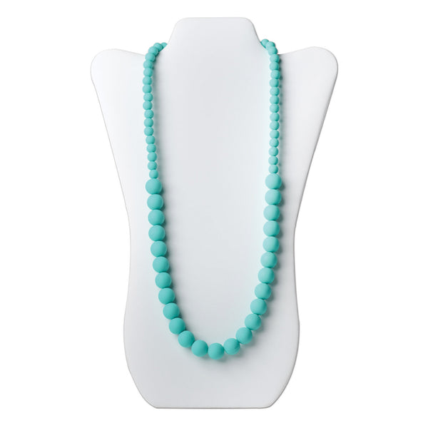 Nixi Ciclo Silicone Necklace in Turquoise