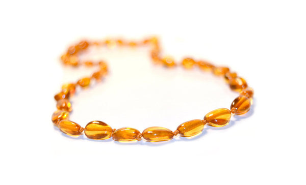 Honey Bean Authentic Baltic Amber Teething Necklace