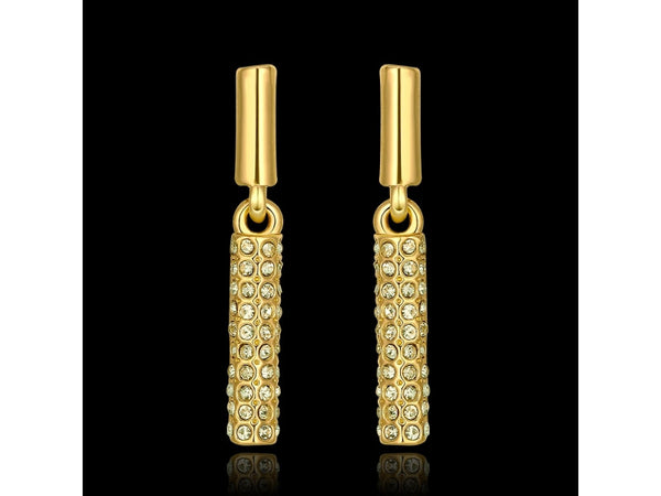 1158038  E959-A Nickle Free Antiallergic 18K Real Gold Plated Earrings For Women New Fashion Jewelry