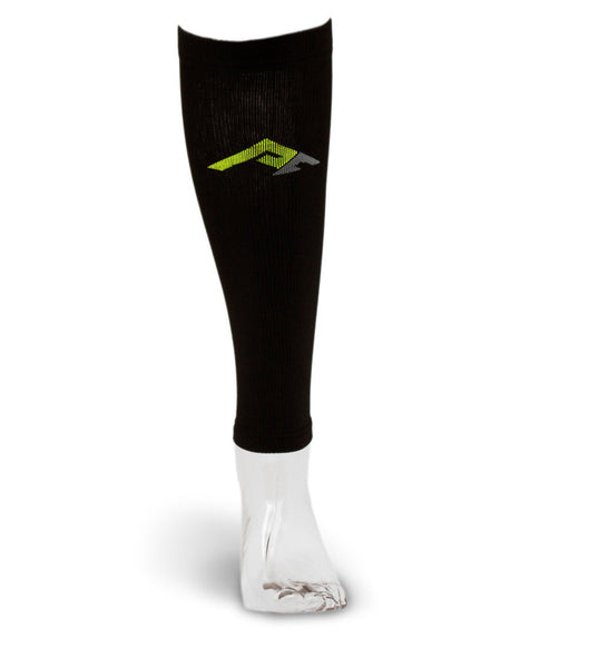 Marathon Compression Calf Sleeves, Black L/XL