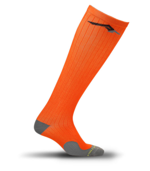 Marathon Compression Socks, Orange L/XL