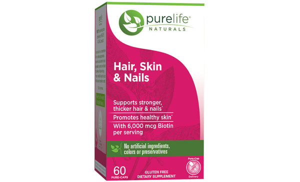 PureLife Naturals Hair, Skin, and Nails Supplement - 30 servings