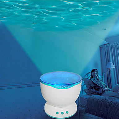 Ocean Wave LED Projector Speaker