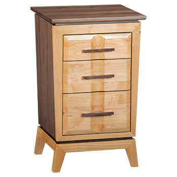 DUET Small 3‑Drawer Addison Nightstand