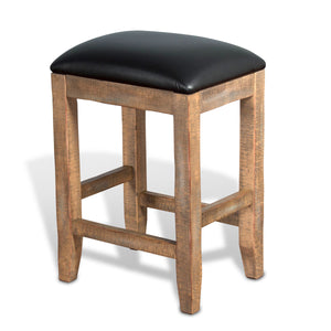 Puebla Cushioned Stool