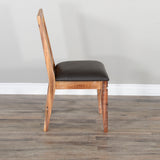 Slatback Chair with  Cushion Seat