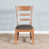 Dry Leaf Side Chair with Cushion Seat